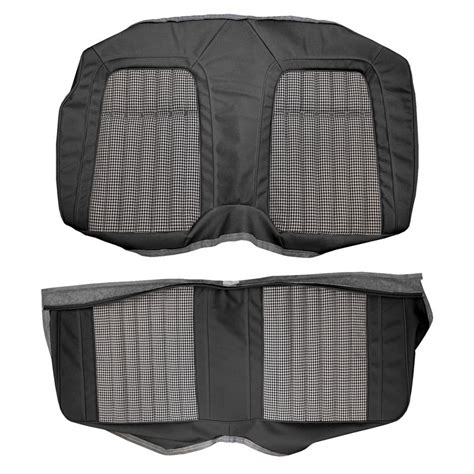 camaro rear seat covers deluxe houndstooth classic