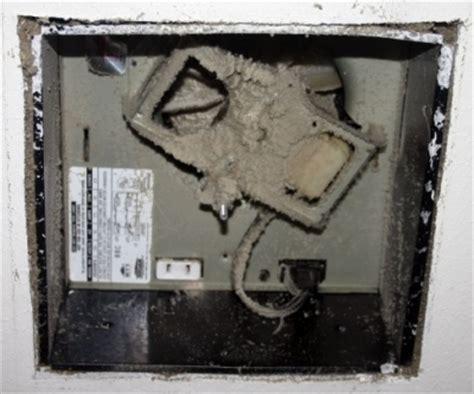 repair  bathroom exhaust fan