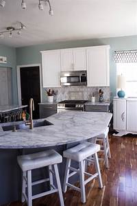 My Carrara Marble Kitchen And Tips For Choosing Marble