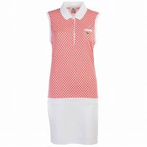 Lacoste Women's Sleeveless Polo Dress Running Gym Active ...