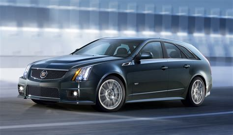 cadillac cts  sport wagon officially revealed