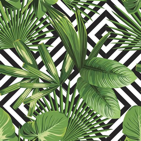 Palm Background Palms Diamonds Removable Wallpaper Palm And Wallpaper