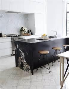 contrasting kitchen island ideas   statement digsdigs