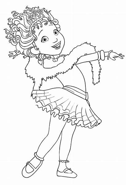 Nancy Fancy Coloring Clancy Pages Drawing Disney