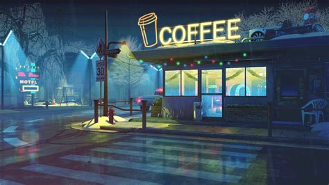 Only the best hd background pictures. Coffee shop vibes... 😴 | Desktop wallpaper art, Anime backgrounds wallpapers, Aesthetic desktop ...
