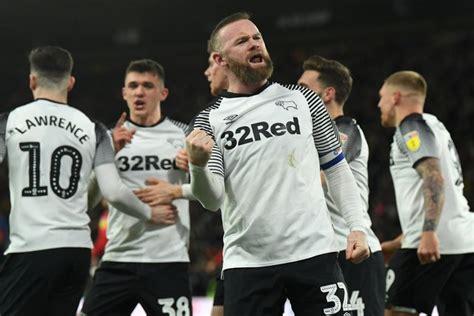 Wayne Rooney Helps Derby County Celebrate Anniversary ...
