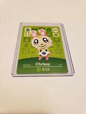 I have a villager amiibo figure though from smash bros. Chrissy # 300 Animal Crossing Amiibo Card AUTHENTIC Series 3 NEW NEVER SCANNED   eBay