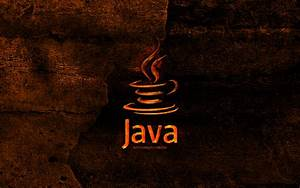 Download, Wallpapers, Java, Fiery, Logo, Programming, Language, Orange, Stone, Background, Creative
