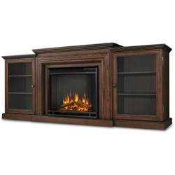 Electric Log Fireplace Heater by Real Flame Frederick 72 Inch Electric Fireplace