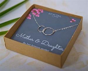 Mother Daughter Necklace - Sterling Silver two ...