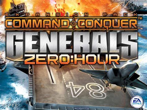 generals zero hour conquer command strategy