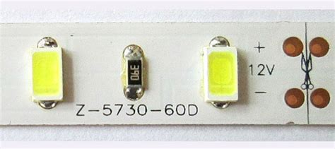 Led Strip Light Smd 5630 And 5730 Power And Characteristics