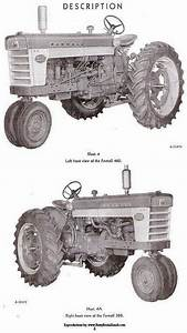 Farmall 460 560 And Ih 560 Operators Owners Manual