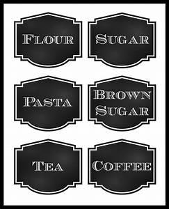 Reorganized Simplicity  Free Printable  Chalkboard Style