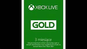 Darmowy Kod Xbox Live Gold  1- Kto 1 Ten Lepszy