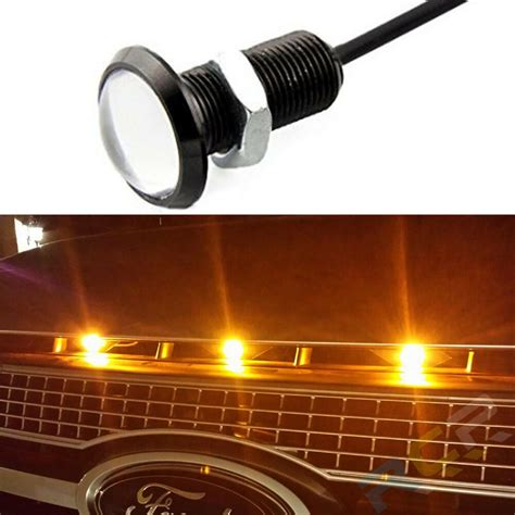 Truck Grill Lights by 1pc Led Grille Lighting For Ford Svt Raptor Style