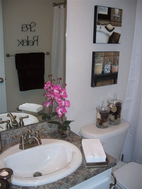 themed bathroom decorating ideas spa themed bathroom bathrooms
