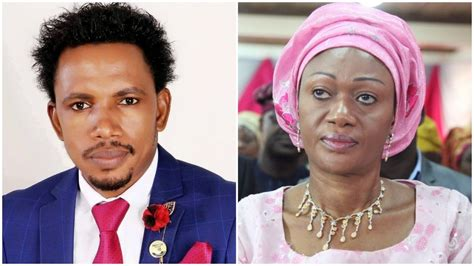 At the event at the marriot hotel in lagos and the lawmaker was involved in a shouting match with some nigerians. Remi Tinubu, Abbo in Heated Argument Over Sex Toy Shop Assault - SIGNAL
