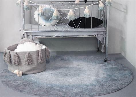 tapis rond degrade de couleur rose jaune gris ou bleu ksl