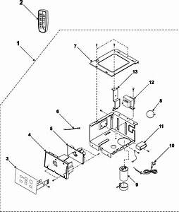 Control Assembly Diagram  U0026 Parts List For Model Aw089cb