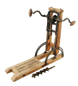 hand powered drilling tools  machines  tech magazine