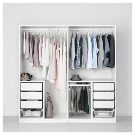 ikea planner guardaroba pax wardrobe white forsand vikedal in 2019 products