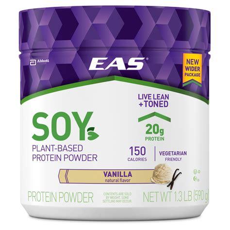 Amazon.com: EAS Soy Protein Powder, Vanilla, 1.3lb: Health