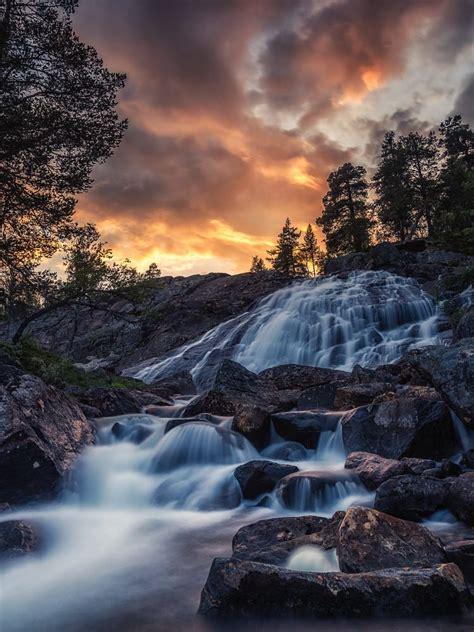 Riverfall | Natural scenery, Waterfall, Cityscape