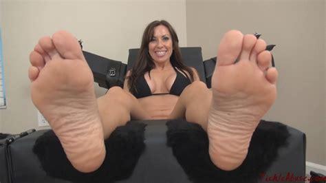Milf Nikki Feet Tickled