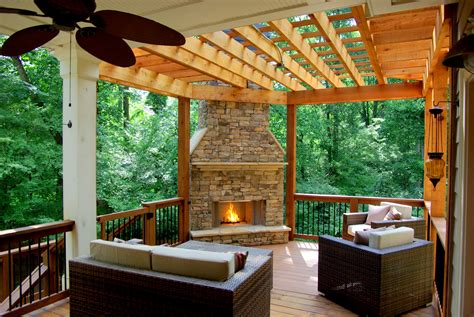 deck fireplaces outdoor decks with fireplaces ideas bistrodre porch and
