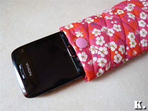 tuto housse telephone portable tuto couture housse portable