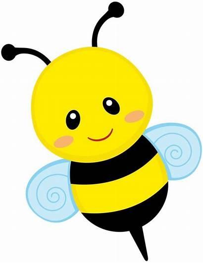 Bee Bumble Clip Clipart Cartoon Cliparts Bees