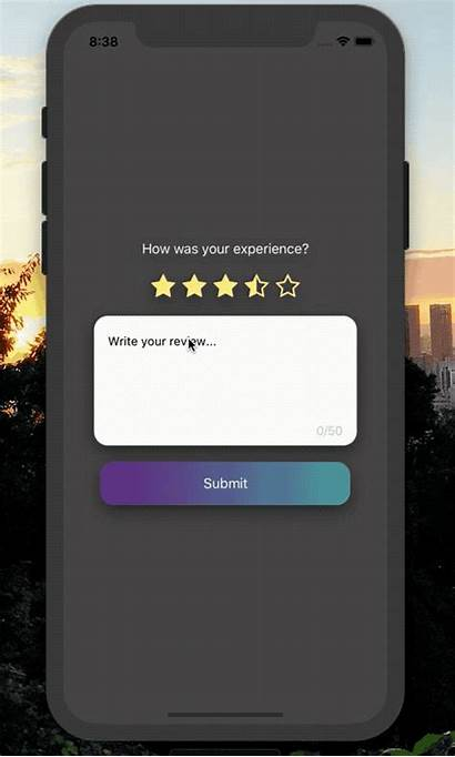React Modal Native Dynamic Rate Feature Comment