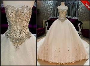 wedding dress ball gown sweetheart neckline bling naf dresses With sweetheart neckline wedding dress with bling