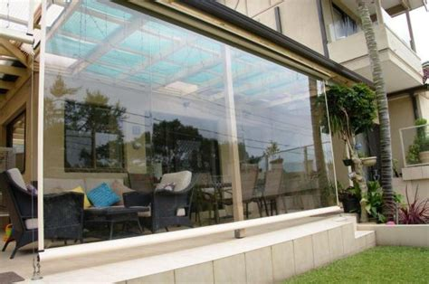 clear outdoor pvc blinds photo australian outdoor living