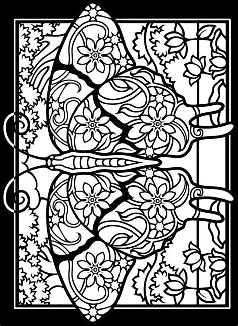 medieval stained glass coloring pages   print