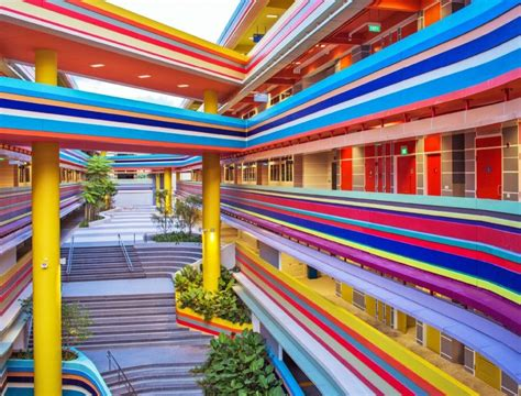 this crazy singapore school looks like it s made from
