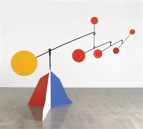 Calder Mobile Sculptures by Monday Inspiration Calder Next Step In
