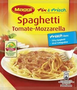Maggi Würzmischung 3 : maggi fix spaghetti tomate mozarella 36 er pack 36 x 45 g ~ Lizthompson.info Haus und Dekorationen