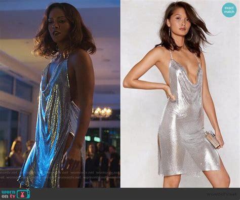 Mazes Silver Metallic Mini Dress On Lucifer In 2020