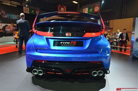 Paris 2018 Honda Civic Type R Concept Taringa