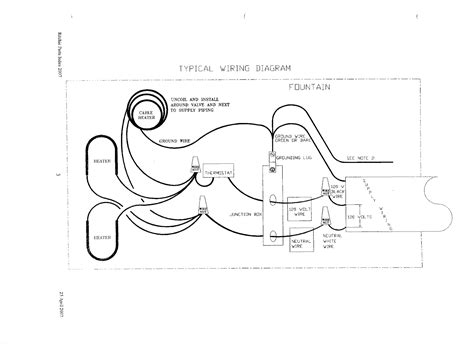 Typical Wiring Diagram For Waterers Fountains