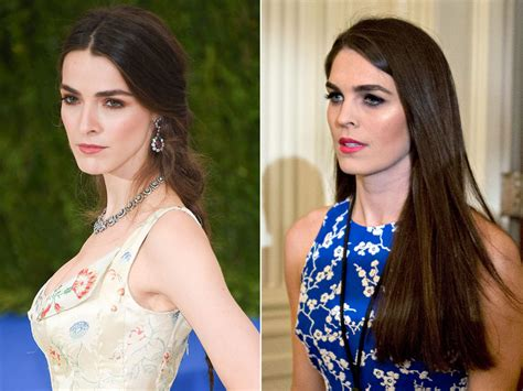 Hope Hicks as a Model Images