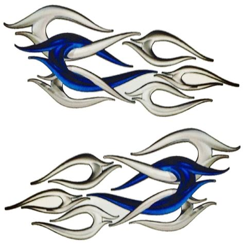 Boat Decals Flames by Boat Car Truck Motorcycle Graphics Decal Vinyl Stickers