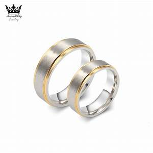 18k gold stainless steel his and her promise ring the With his and her wedding rings