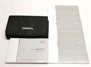 2014 Nissan Quest Owners Manual Guide Le Sl Sv S V6 3 5l