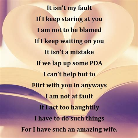 wife love poems