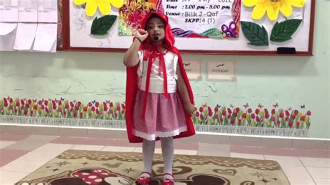 red riding hood story telling competition youtube
