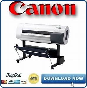 Canon Ipf720 Service Manual  U0026 Repair Guide   Parts Catalog