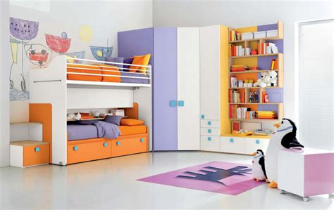 vibrant  lively kids bedroom ideas  decorative